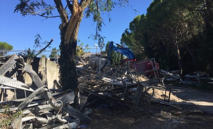 Demolizione bonifica scavi depuratore Marecchiese Rimini