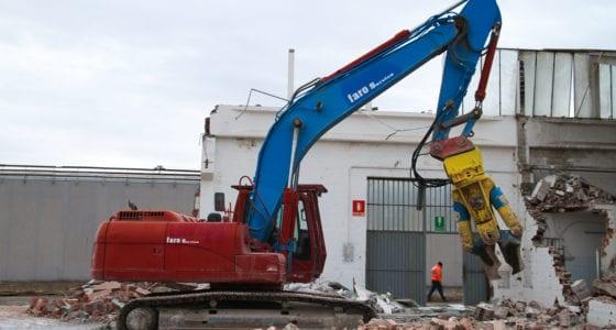 Scavi demolizione recupero Decathlon Zola Predosa Bologna