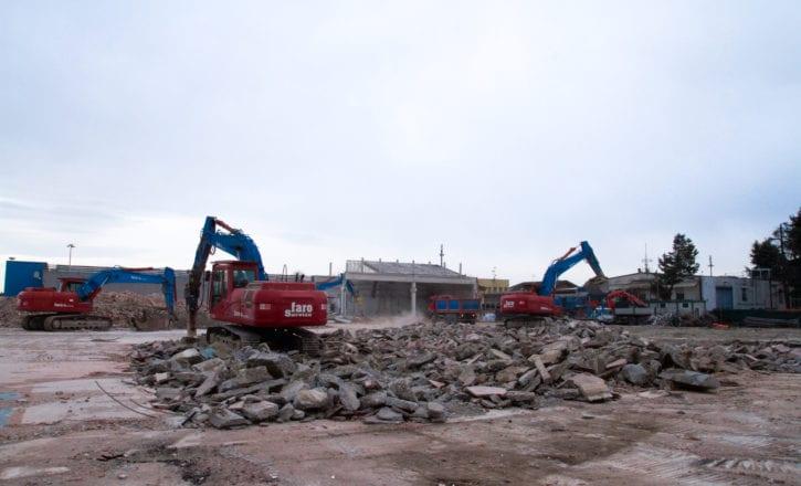 Demolizione scavi Decathlon Zola Predosa Bologna