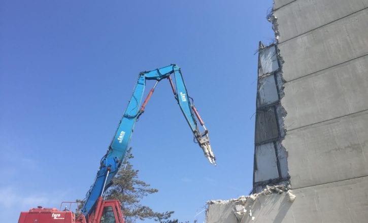 Demolizione bonifica fabbricati complesso Bologna 2 Calderara di Reno Bologna