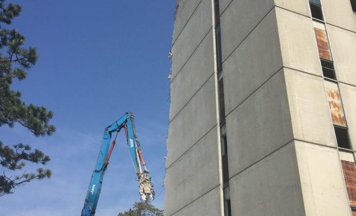 Demolizione bonifica alta tecnologia complesso Bologna 2 Calderara di Reno Bologna