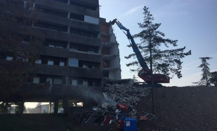 Demolizione bonifica ambientale rifacimento complesso Bologna 2 Calderara di Reno Bologna
