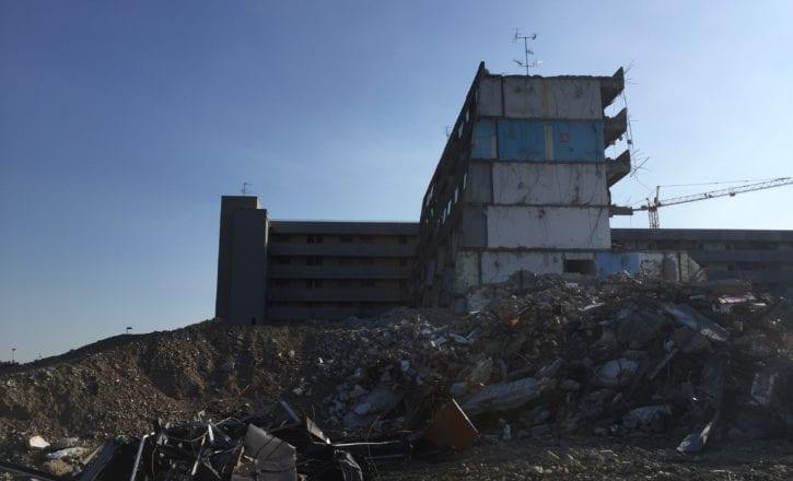 Demolizione bonifica inerti complesso Bologna 2 Calderara di Reno Bologna