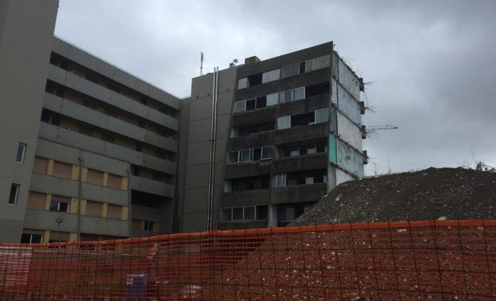 Demolizione bonifica rifacimento recupero inerti complesso Bologna 2 Calderara di Reno Bologna