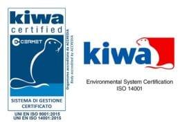 Certificazione Kiwa Uni Iso 140001 Logo