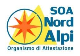Soa Nord Alpi Oraganismo di Attestazione Logo
