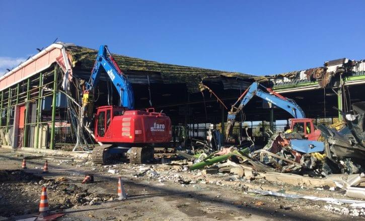 Demolizione carotaggi recupero siti inquinati padiglioni 29 30 Fiera Bologna