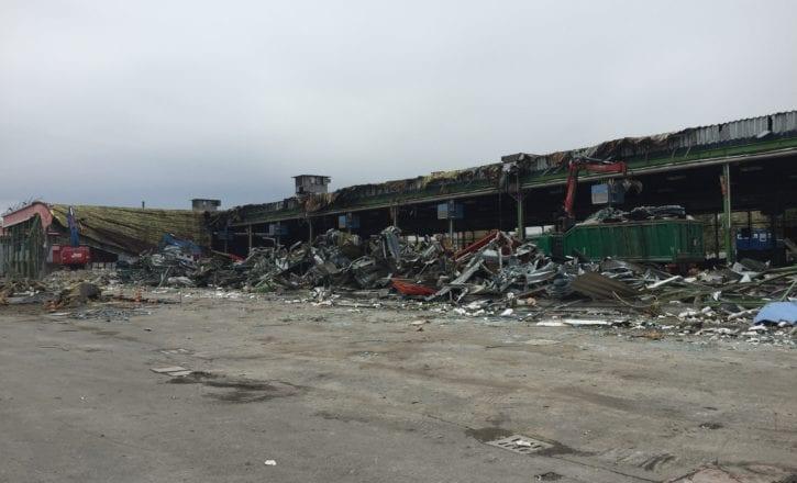 Demolizione padiglioni 29 30 Fiera Bologna recupero siti inquinati amianto