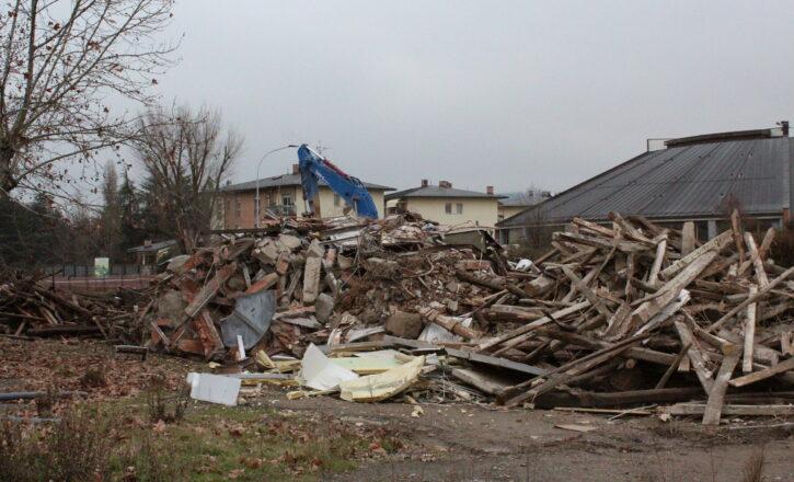 Demolizione edilizia