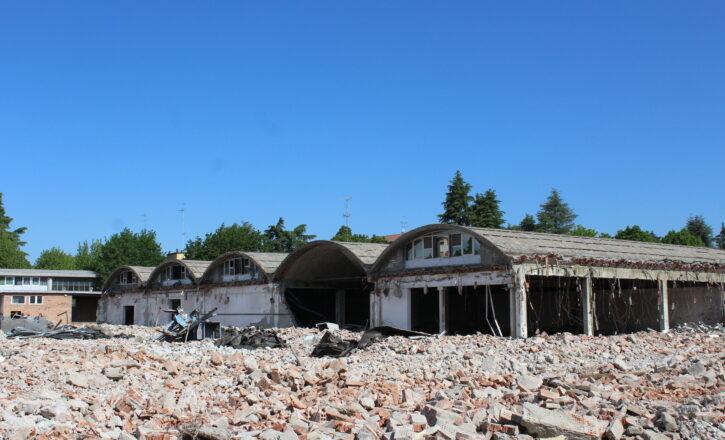 Demolizione totale del fabbricato